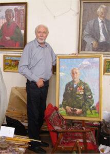 В мастерской художника Анатолия Лукашенка, 17 июня 2013 г.